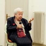 Lidia Menapace at Casa delle Donne di Milano with Nicoletta Gandus