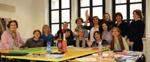 Il gruppo benessere - movimento. Foto di Valeria Sinesi