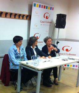 Margherita Giacobino, Nicoletta Buonapace e Liana Borghi