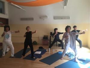 Kundalini yoga Daria Priori alla Casa delle Donne Milano