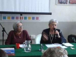 Laura Lepetit e Maria Luisa Boccia