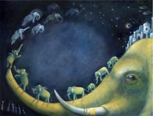 7_Elisabetta_Fermani_7_Elefanti volanti