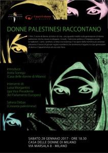 Iniziativa cinema palestinese 28.1.17