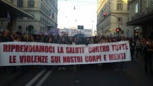 Roma: manifestazione 26/11/16 - Foto di Alessandra Ghimenti
