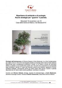 locandina ecologia