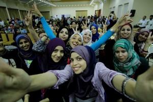 Un gruppo di donne gazawi