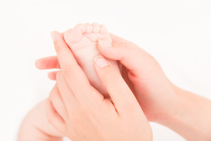 Massaggio per neonati alla Casa