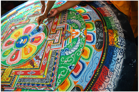 Disegno del Mandala per Donne