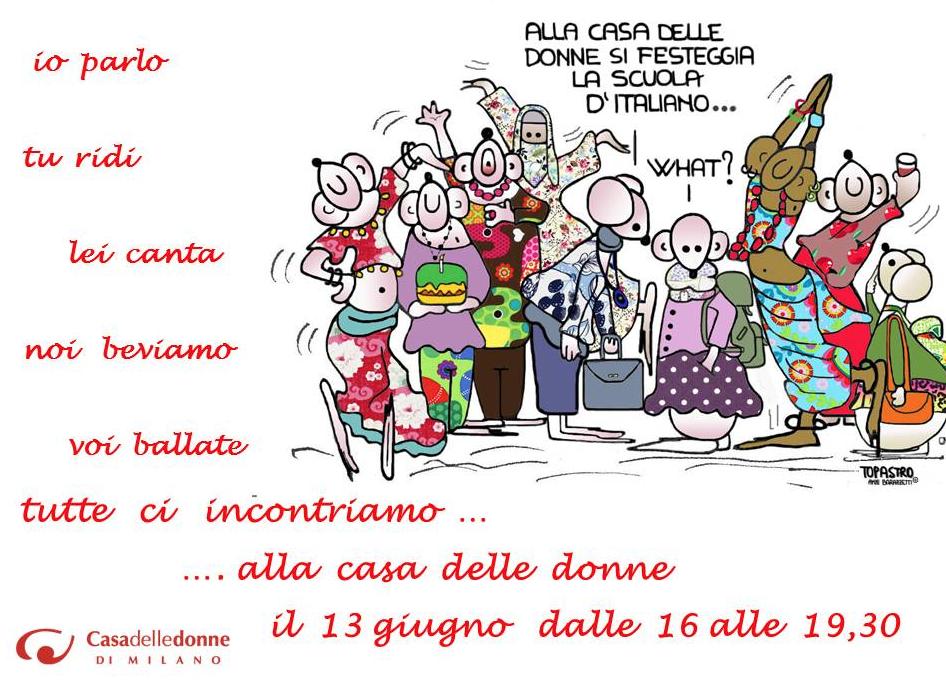 Festeggiamoci. La scuola d'italiano in festa