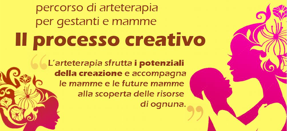 Il processo creativo per gestanti e mamme