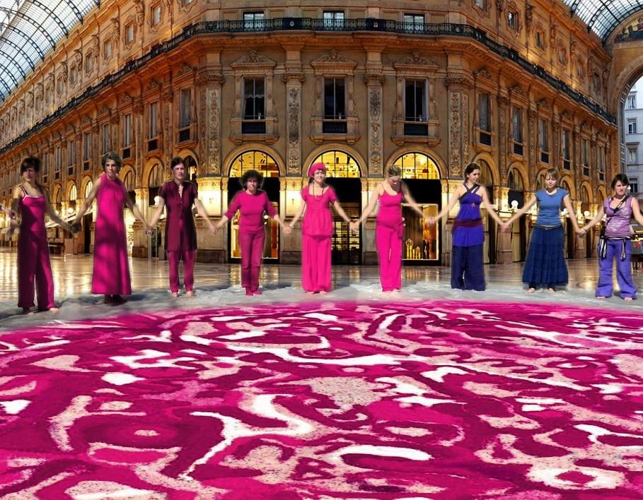 8/3 Mandala: opera condivisa contro la violenza sulle donne