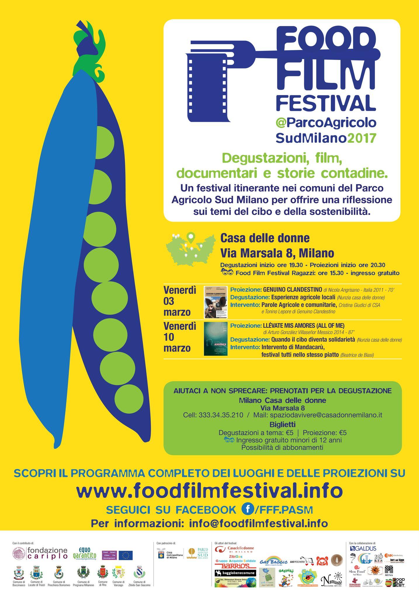 Food Film Festival: ci siamo anche noi!