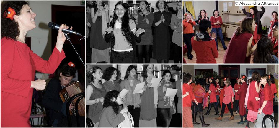 5/6: in scena Voci di donne e Il mio canto libero