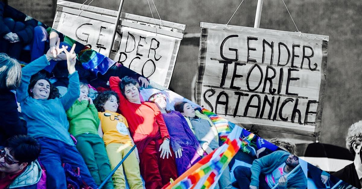 21/10: No gender, ritratti di paure e poteri