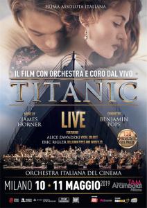 Locandina Titanic LIVE