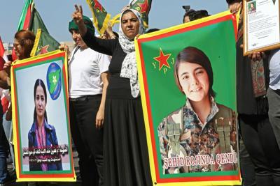 Il nostro sostegno alla lotta delle donne curde