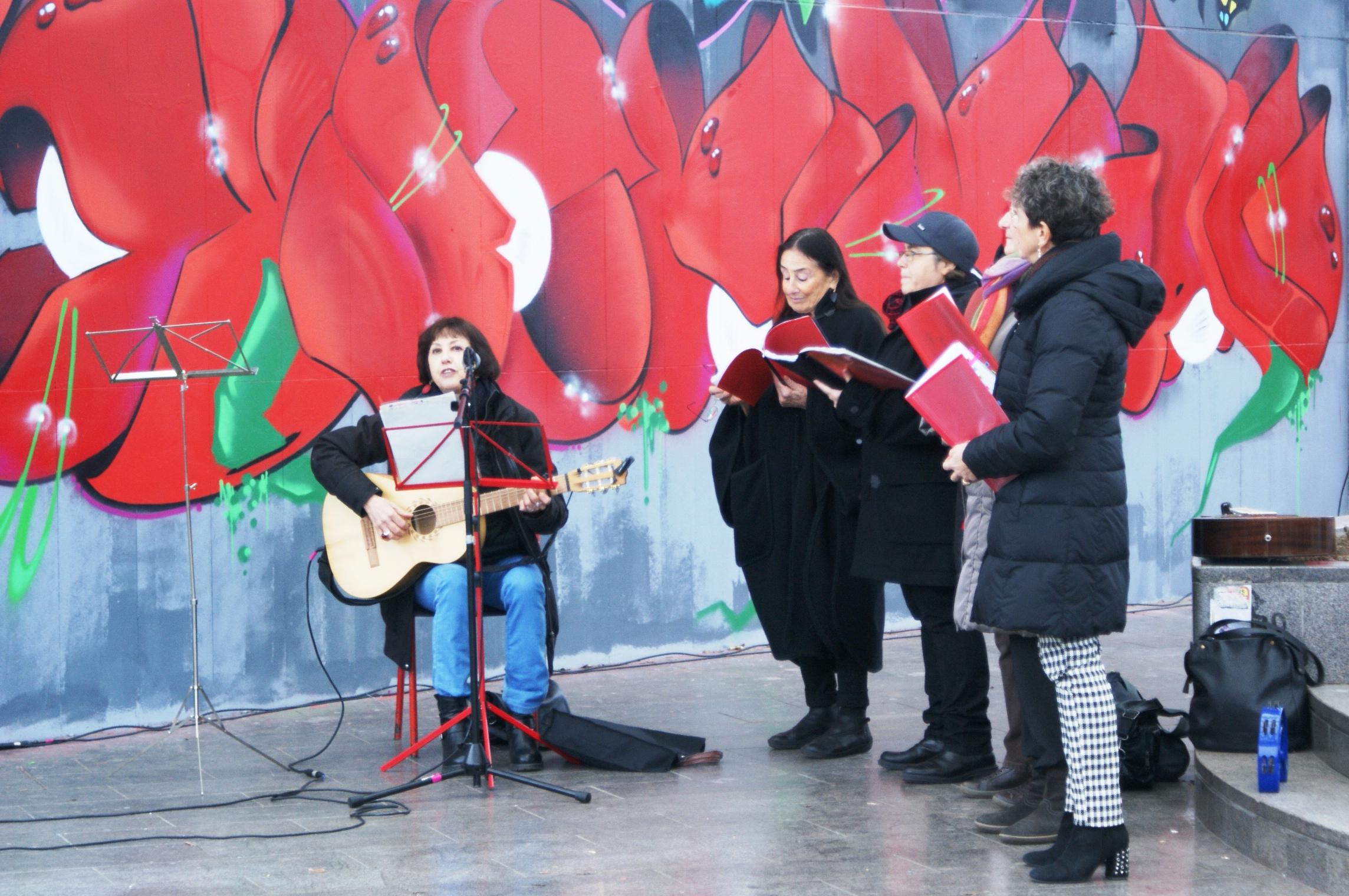 Nuovi murales per le donne partigiane di ieri e di oggi, nel mondo