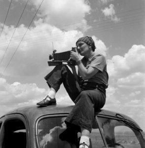 "Evento online: Dorothea Lange: una fotografa ""piena di mondo""."