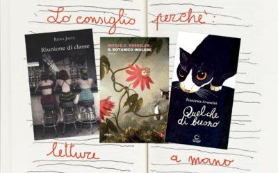 Lo consiglio perché.. maggio è un mese di fiori e di letture.