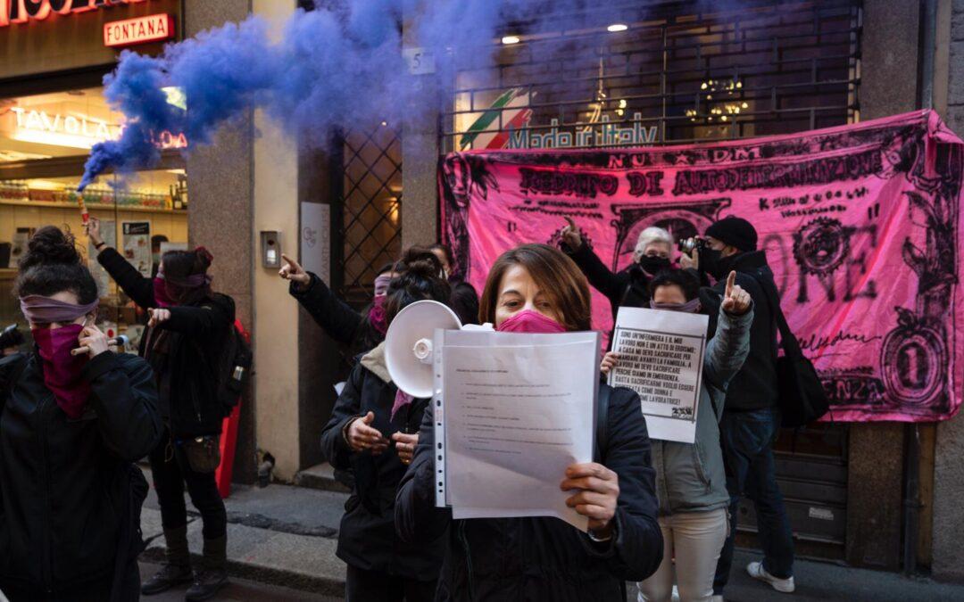 Dare ai centri antiviolenza il patrimonio dello stupratore Genovese!