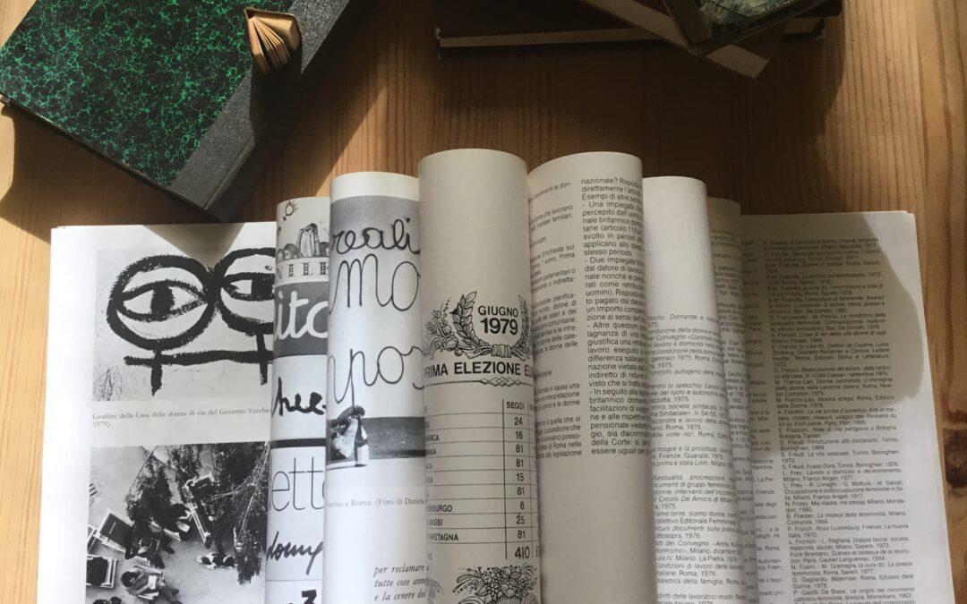 Pensiero, storia e scrittura delle donne