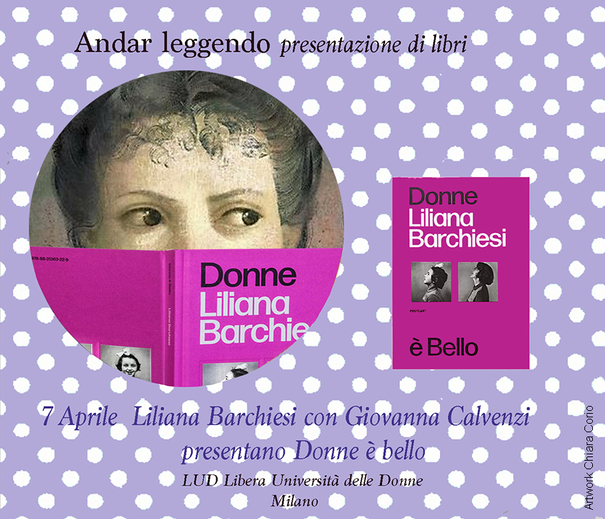 "Evento on line: Presentazione del libro ""Donne è bello"" di Liliana Barchiesi"