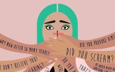 Per denunciare lo stupro  ci vuole (ancora!) molto coraggio