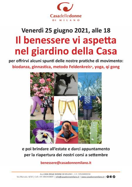 Evento del Gruppo Benessere @ Casa delle Donne di Milano